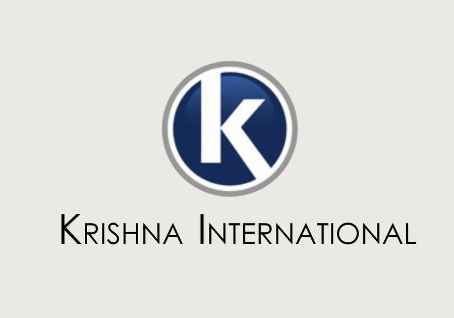 Konkurrenceindlæg #68 for Design a Logo for Krishna International
