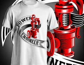 #33 para Design a T-Shirt for Power Engineer Professional por aghits