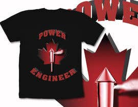 #27 para Design a T-Shirt for Power Engineer Professional por naty2138