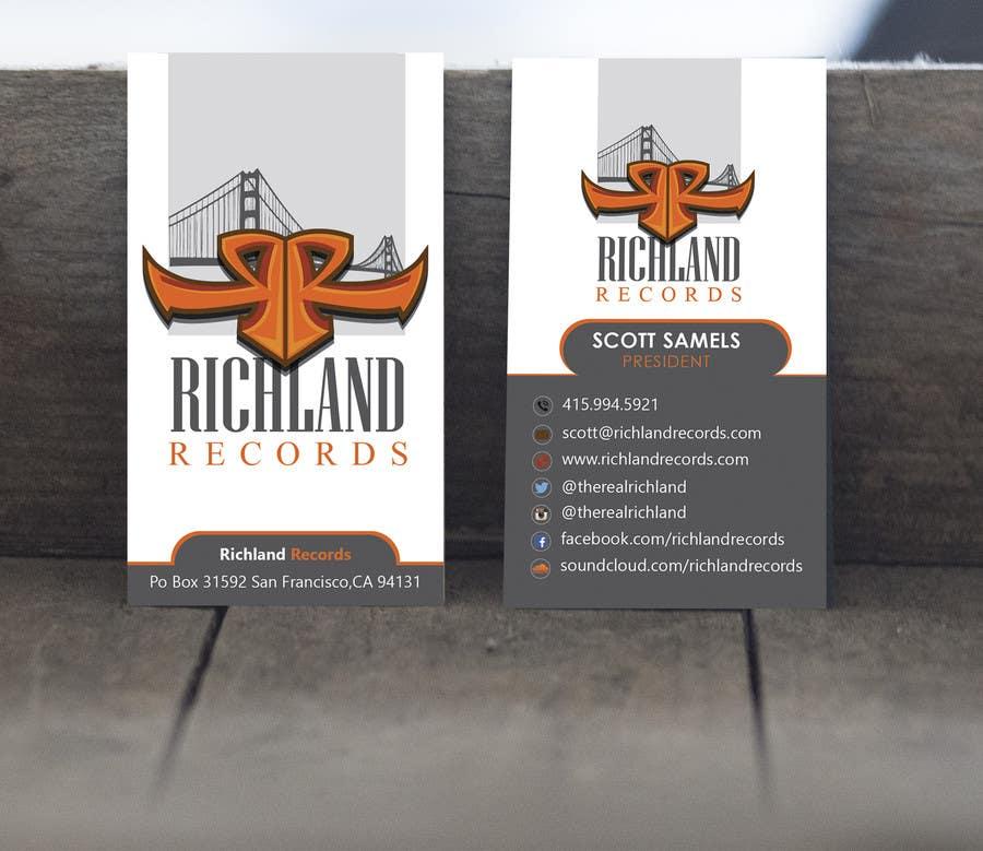 Kilpailutyö #70 kilpailussa Brand-new business cards!