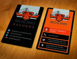 #92 for Brand-new business cards! by akhi1sl