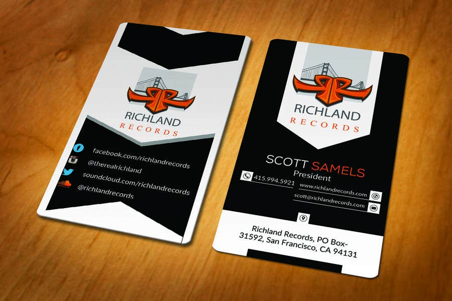 Proposition n°98 du concours Brand-new business cards!