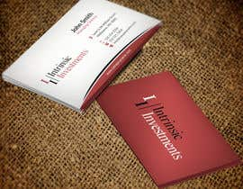 #1 untuk Design some Business Cards for Intrinsic Investments oleh mdreyad