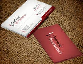 #5 untuk Design some Business Cards for Intrinsic Investments oleh mdreyad