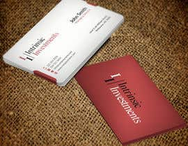 #6 untuk Design some Business Cards for Intrinsic Investments oleh mdreyad