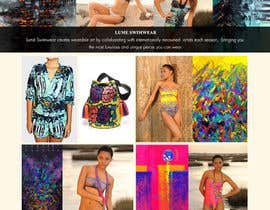 #3 for Design a Website Mockup for Lumé Swimwear af madhu2078