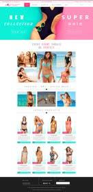 #12 cho Design a Website Mockup for Lumé Swimwear bởi logodesire