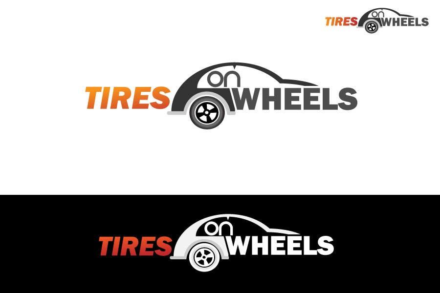 Penyertaan Peraduan #100 untuk Logo Design for Tires On Wheels