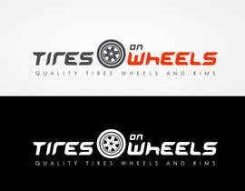 #44 pentru Logo Design for Tires On Wheels de către FreelanderTR