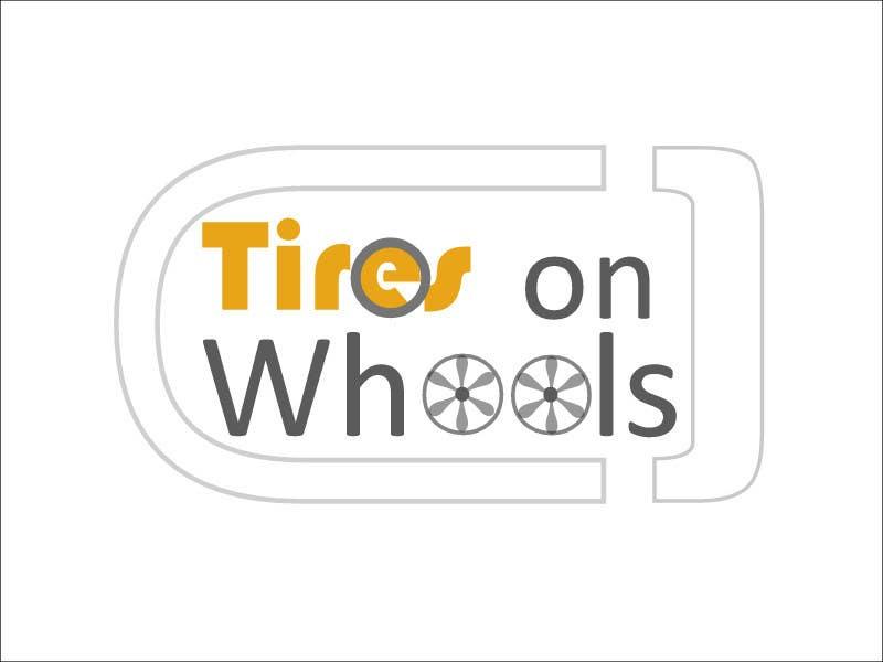Penyertaan Peraduan #166 untuk Logo Design for Tires On Wheels
