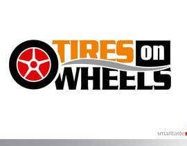#176 untuk Logo Design for Tires On Wheels oleh smarttaste