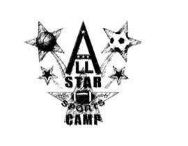 #12 para Design a Logo for All-Star Sports Camp ver. 2 por tontomaldito