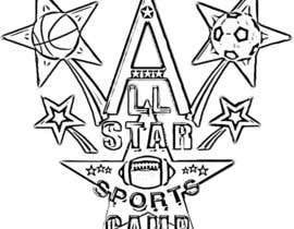 #7 for Design a Logo for All-Star Sports Camp ver. 2 af Cubina