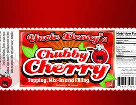 #49 for Chubby Cherry label re-design af rogeliobello