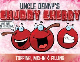 #32 for Chubby Cherry label re-design af allreagray