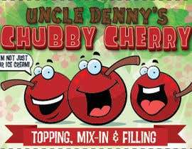 #46 for Chubby Cherry label re-design af allreagray