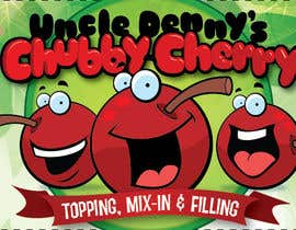 #60 for Chubby Cherry label re-design af allreagray