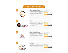 #20 cho BEST HOMEPAGE DESIGNER - 10th project bởi bellalbellal25