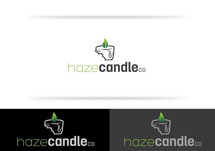 Konkurrenceindlæg #                                        5                                      for                                         Design a Logo for Haze Candle Co.