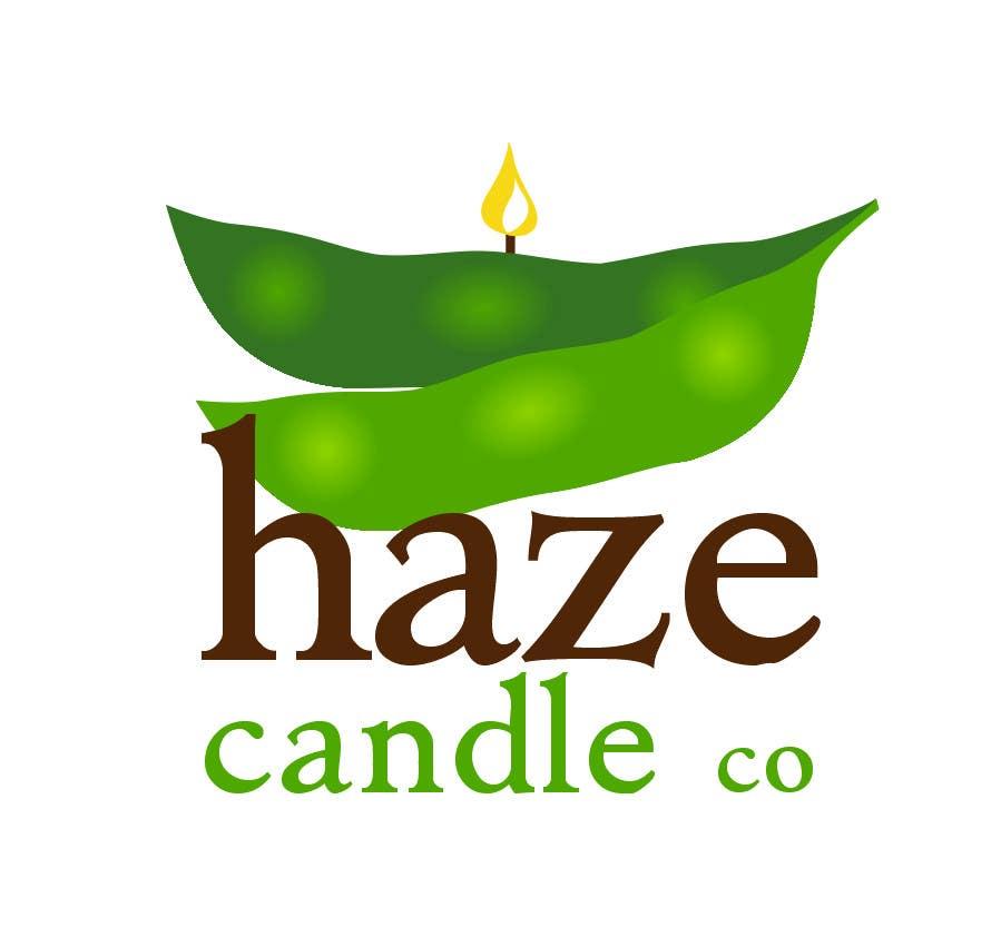 Penyertaan Peraduan #19 untuk Design a Logo for Haze Candle Co.