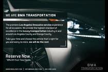 Design an Advertisement for a car service and limo company için Advertisement Design40 No.lu Yarışma Girdisi