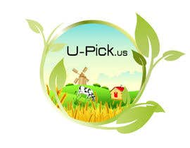 #90 para Design a Logo for U-Pick.us por alidicera
