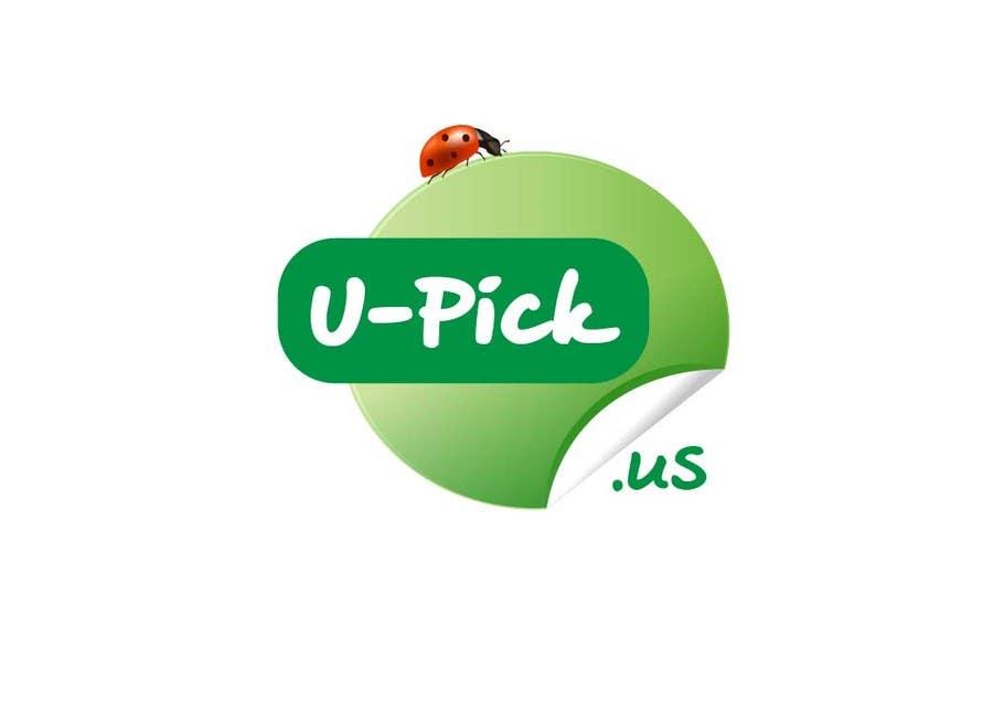 Penyertaan Peraduan #48 untuk Design a Logo for U-Pick.us