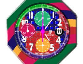 nº 11 pour Illustrate An Artistic Watch Face Design Painting par pranj007