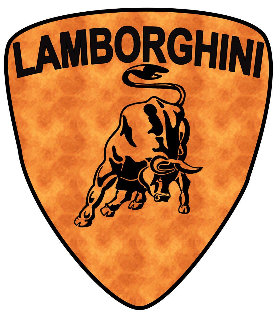 Contest Entry #                                        24                                      for                                         Illustrate a Painted Lamborghini Logo Design