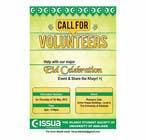 Graphic Design Penyertaan Peraduan #17 untuk 'Call for Volunteers' - Islamic Flyer