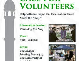 #10 cho 'Call for Volunteers' - Islamic Flyer bởi Pallavi69