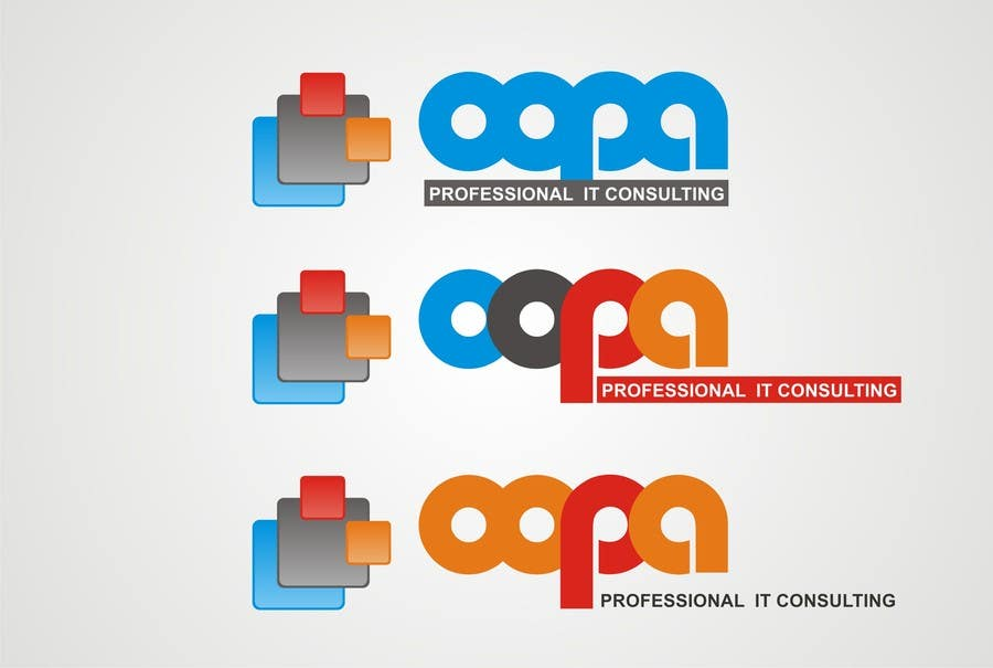 """Bài tham dự cuộc thi #                                        8                                      cho                                         Exciting new logo for an IT services firm called """"oopa"""""""