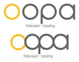 "#171 untuk Exciting new logo for an IT services firm called ""oopa"" oleh willeckman"
