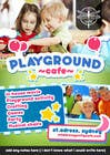 Design a Flyer for Cafe for Pop Up Playgroup Activities için Graphic Design12 No.lu Yarışma Girdisi