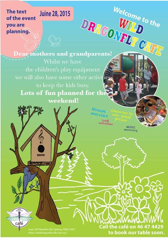 Konkurrenceindlæg #                                        3                                      for                                         Design a Flyer for Cafe for Pop Up Playgroup Activities
