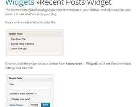#4 for Widget to page - Worpress af yashaswini510