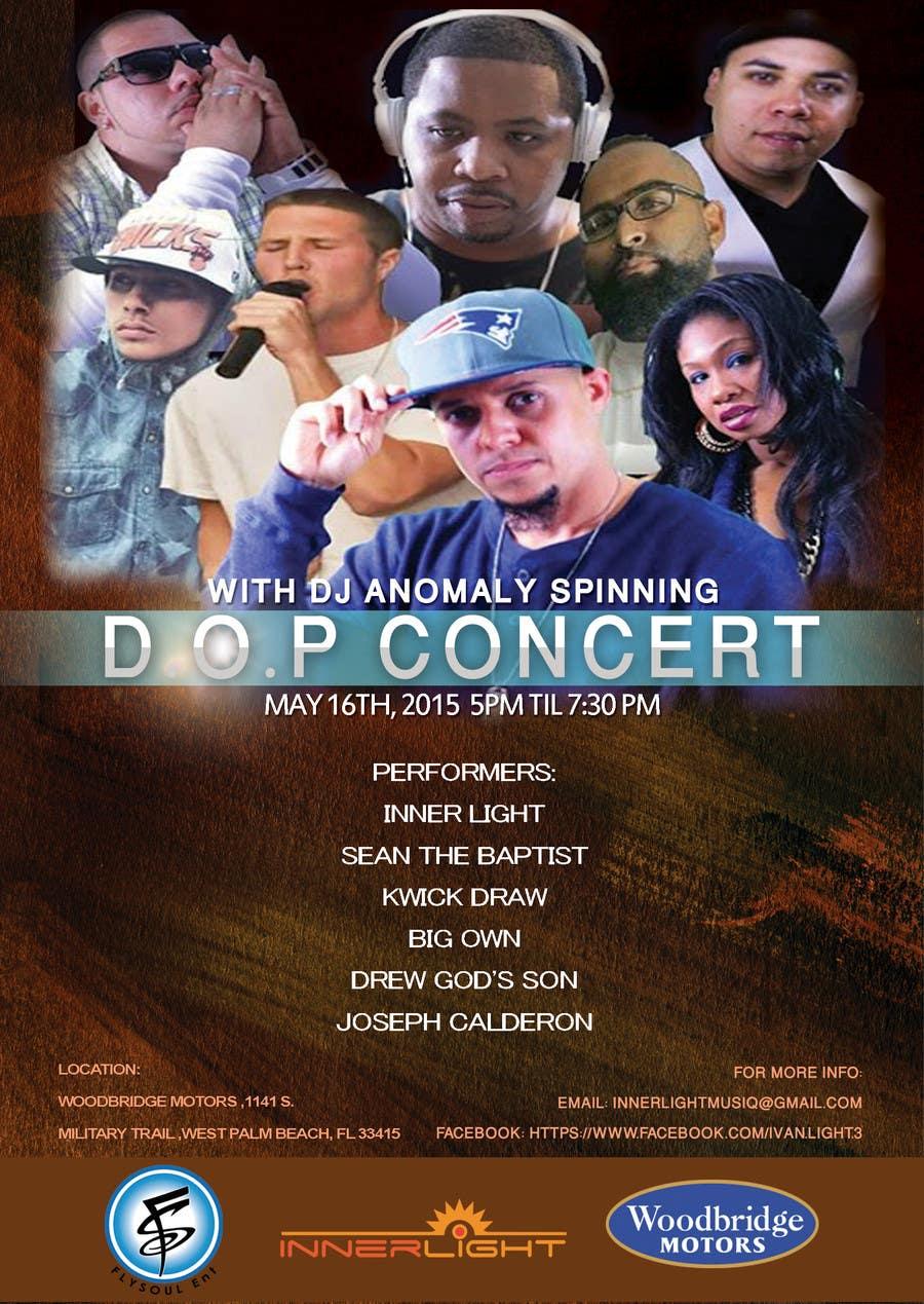 Penyertaan Peraduan #4 untuk Design a Flyer for Concert