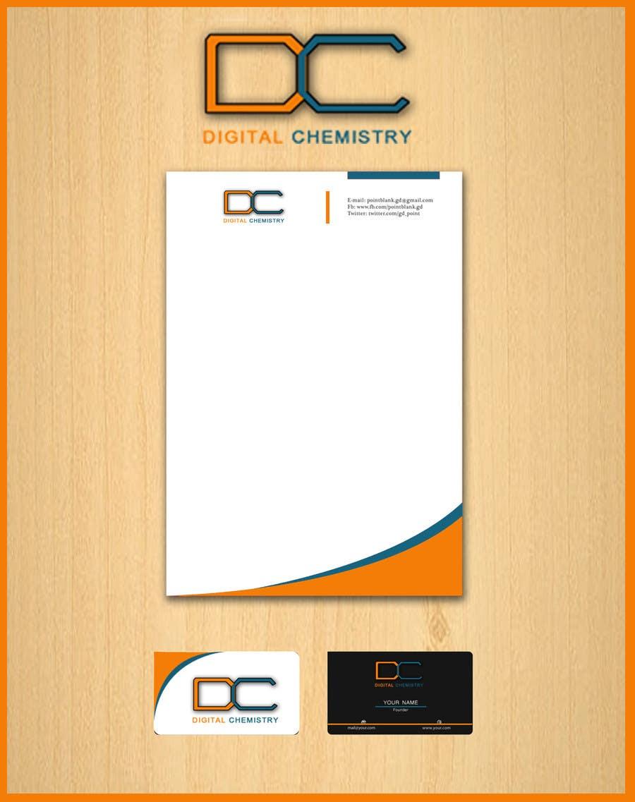 Kilpailutyö #155 kilpailussa Design a Logo for Digital Chemistry