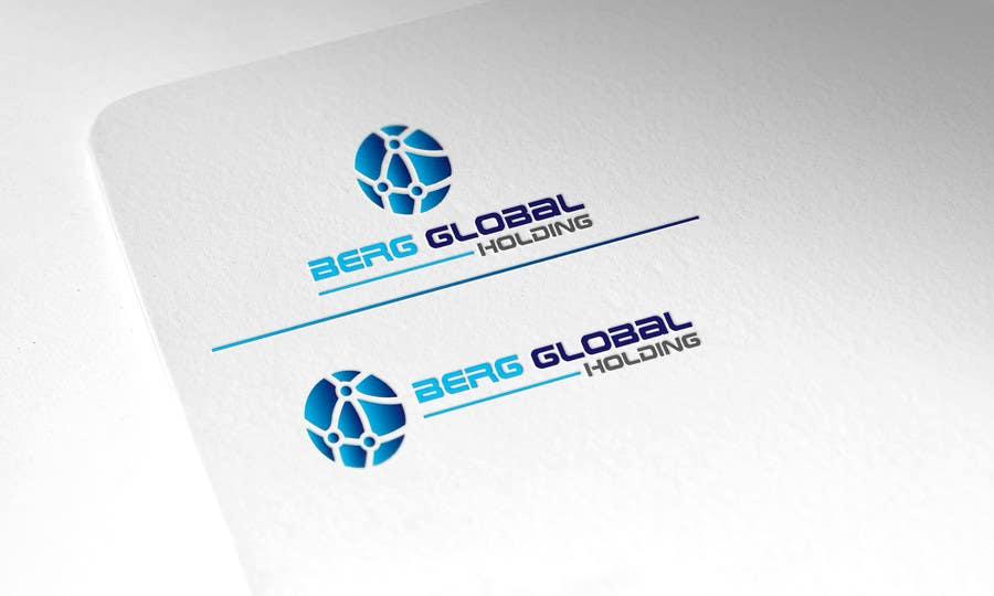 Konkurrenceindlæg #                                        14                                      for                                         Design a Logo for Berg Global Holding Company