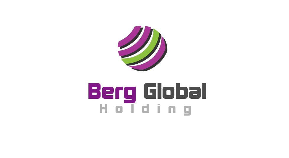 Contest Entry #                                        30                                      for                                         Design a Logo for Berg Global Holding Company