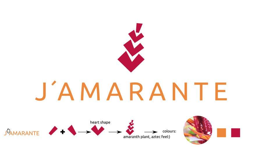 Penyertaan Peraduan #82 untuk Design a Logo for J'amarante