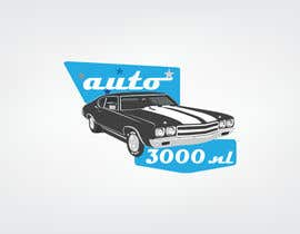 #57 para Design a logo for auto3000.nl, a website selling used cars up to 3000 euro por sajalahsan