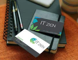 #125 for Design some Business Cards for IT Zen by jewelbabu14