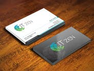 Graphic Design Konkurrenceindlæg #63 for Design some Business Cards for IT Zen