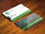Graphic Design Konkurrenceindlæg #104 for Design some Business Cards for IT Zen