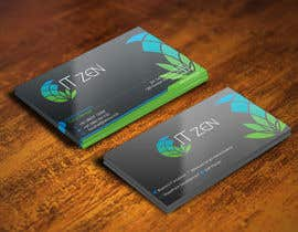 #119 for Design some Business Cards for IT Zen by gohardecent
