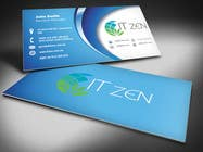 Graphic Design Konkurrenceindlæg #1 for Design some Business Cards for IT Zen