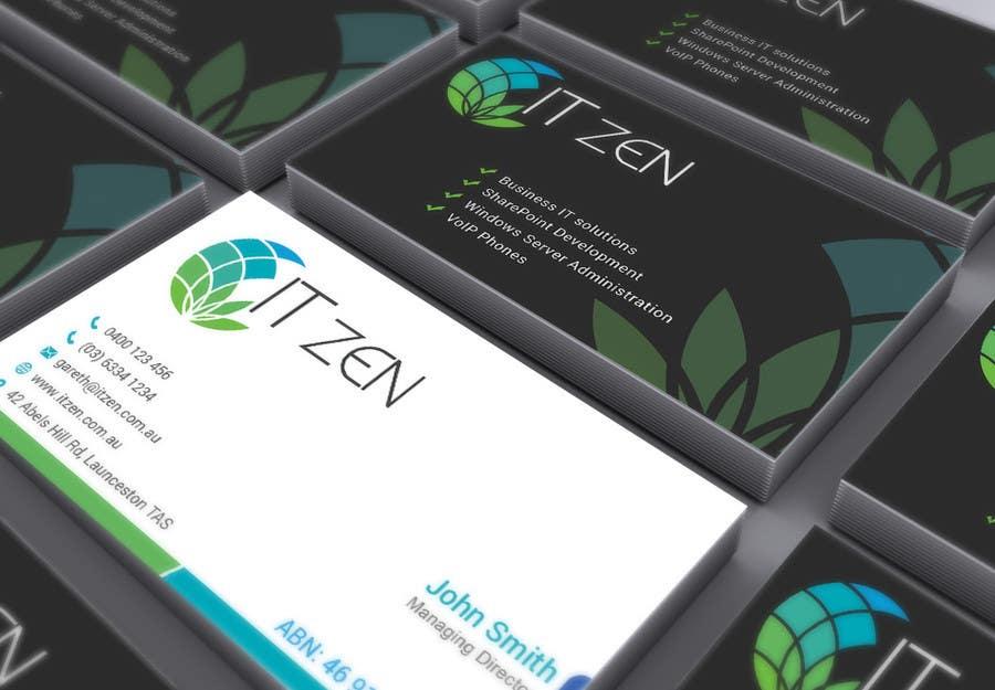 Konkurrenceindlæg #61 for Design some Business Cards for IT Zen