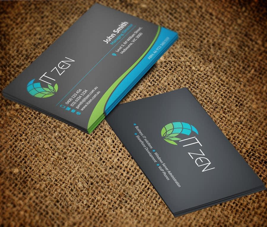 Konkurrenceindlæg #121 for Design some Business Cards for IT Zen