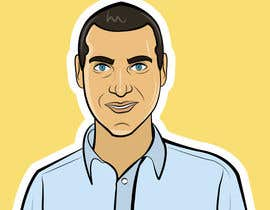 #24 untuk Avatar of a plain looking IT guy oleh maromi8